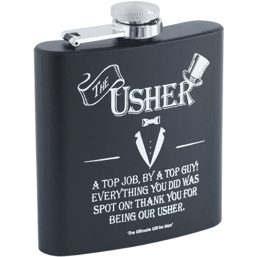 HIP FLASK - USHER